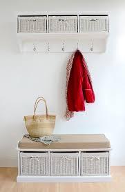 Hallway Storage Bench And Coat Rack Interior Coat Hooks With Storage Baskets White Coat Rack Chair 21