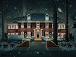 home alone house snow. Perfect Home Weu0027re Excited To Announce A New Movie Poster For One Of Our Favorite  Childhood Movieu0027s Home Alone When Approaching Concept Alone  And Alone House Snow O