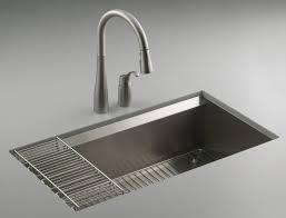 undermount kitchen sink stainless steel: trend kohler undermount kitchen sink stainless steel  on home decorating ideas with kohler undermount kitchen