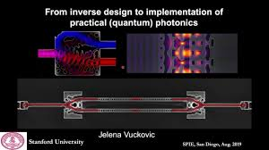 Inverse Design Photonics Jelena Vuckovic From Inverse Design To Implementation Of