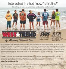 we are excited to be headed back to surf expo september 7 9 and the las vegas souvenir and gift show september 13 16 we re ing back with renewed energy
