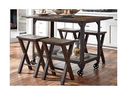 Liberty Furniture Caldwell Industrial Kitchen Island And Counter