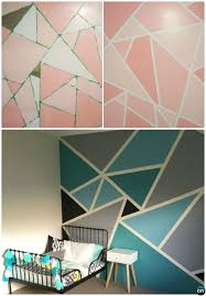 diy painting walls12 DIY Patterned Wall Painting Ideas and Techniques  Wall