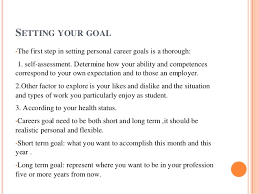 What Are Professional Goals Making Professional Goals And Reality
