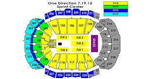One Direction 2013 World Tour Sprint Center