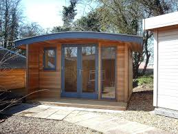prefabricated garden office. modren prefabricated prefabricated garden office buildings prefab backyard shedworking  curved roof office  with i
