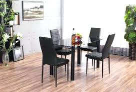 Small black dining table Shaped Full Size Of Glass Top Dining Table Set Chairs India Small Black And Price Lunar Losandes Black Glass Dining Table And Chairs Small Hygena Fitz Set Catchy