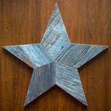 project idea barn wood star