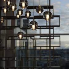 bocci 14 series chandelier with skyline backdrop dimensions of the 14 5 pendant light
