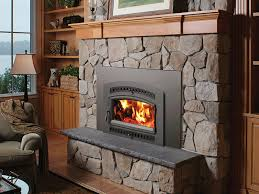 33 elite flush wood plus arched wood fireplace insert