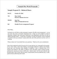 A Sample Of A Proposal Work Proposal Template 15 Free Sample Example Format