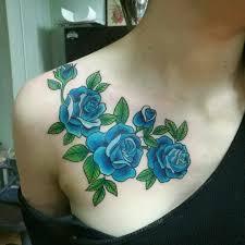 тату цветы на ключице Tattoos тату татуировки и цветы