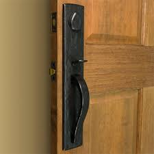 front door handle lockEllis Solid Bronze Entrance Set with Lever Handle  Hardware