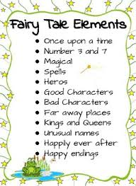 Elements Of A Fairy Tale Fairy Tale Elements Anchor Chart By Debra Kroll Tpt