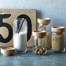 luxury modern kitchen canister stylish food storage container for the view in gallery jar wood and