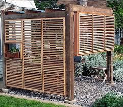 outdoor patio privacy screens designs