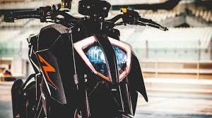 1366x768 KTM 1290 Super Duke Front View ...