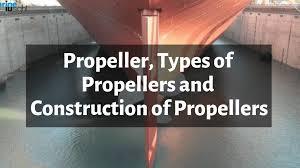 Marine Propeller Design Theory Propeller Types Of Propellers And Construction Of Propellers