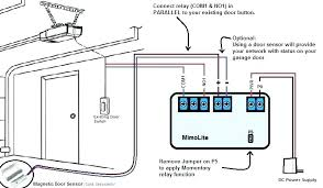 garage door sensors bypass bypass garage door safety sensor wiring diagram auto electrical co genie garage