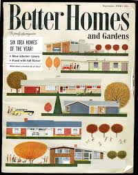 ed actually had the 1958 better homes gardens cover to share with us this house for is the model directly under the s masthead