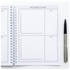 Profit Fitness And Food Journal Weight Loss Planner