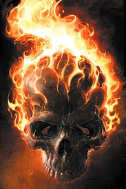 ghost rider skull iphone wallpaper