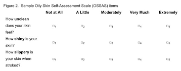 Sample Oil Skin Self-Assessment Scale Items. This File Is A Word Doc ...