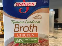 natural goodness en broth