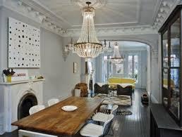 bertoia side chair fireplace reclaimed wood table e f chapman paris flea market 8 light antique chandeliers in burnished brass
