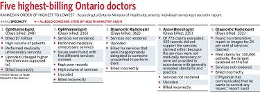 ontario s top billing doctors overcharged ohip health ministry  do you want to help shape the toronto star s future