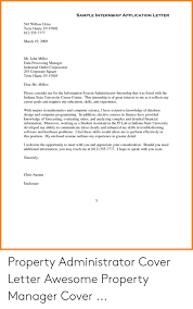 Internship Application Letter Sample Internship Application Letter 543 Willow Drive Terre