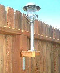 backyard fence lighting outdoor fence lighting fixtures outdoor fence lighting fixtures