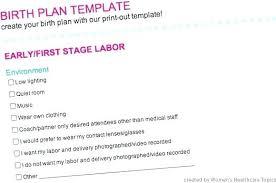 Free Birth Plan Templates Best Birth Plan Template Birthing Plan Template Luxury Birth App