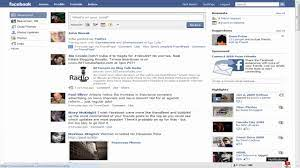 Facebook Login and Home Screen - YouTube