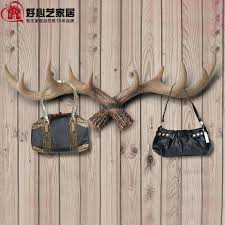 High Quality Coat Rack high quality resin antler design clothes rack coat hanger clothes 14