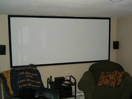 projector wall paintHome Theater Projector Screen on a Budget 8 Steps with Pictures