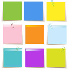 Notes Template Printable Set Of Sticky Notes Template Free Printable Papercraft