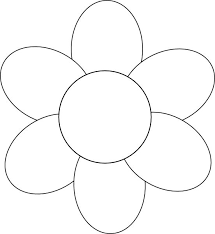 Spring Flower Template Flower Template Free Printable Google Search Applique