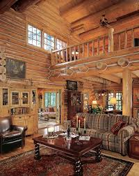 Log Homes Interior Designs Set