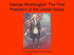 Image result for first president of the United States.