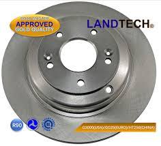 For Hyundai Car Brake Disc Rotor 584112m000 Landtech