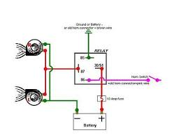 wiring aux lights adventure rider it s a wiring diagram for horns but driving lights work the same way