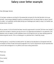Cover Letter With Salary History And Salary Requirement How To