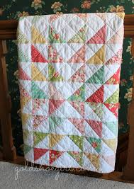 gold shoe girl sweet strawberry fields throw quilt