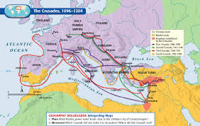 U4 Middle Ages Islamic Empires And Crusades Lessons Tes