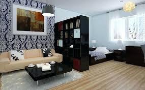Decoration Interior Small Studio Apartment Design Ideas In Along Unique Apartment Decorating Design