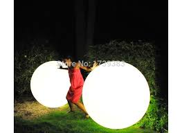 outdoor lighting balls. Dia 80cm Led Big Large Ball Light,waterproof, Rechargeable,pool Decoration, Outdoor/garden/front Courtyard Furniture Globe-in LED Night Lights From Outdoor Lighting Balls W