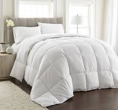 light warmth down alternative comforter w space saver storage bag bedding collections