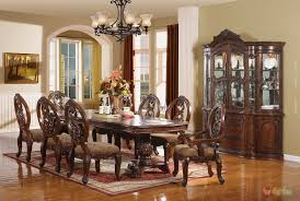 Wyndham Traditional Cherry Pc Formal Dining Room Furniture Set