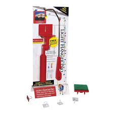 Holiday Light Hanging Pole Lhp Industries Light Hanger Pro Installation Kit Walmart Com